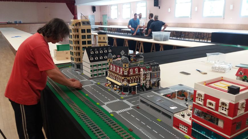 Les passionnés de Legos exposent à Mulsanne.