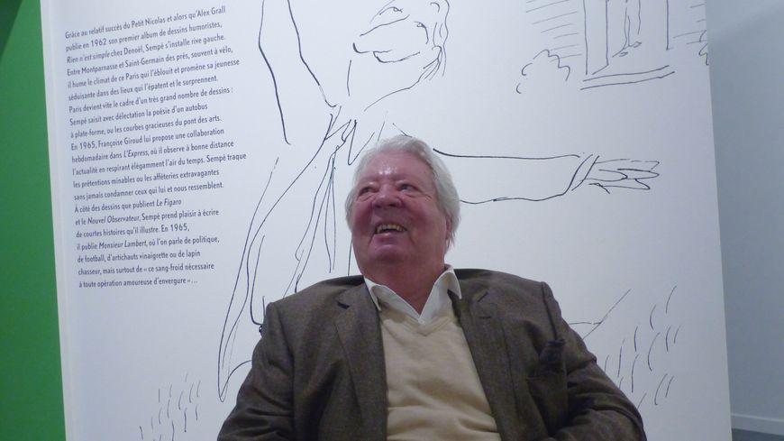 L'exposition retrace les soixante-dix ans de carrière du grand dessinateur de presse et d'humour, né à Bordeaux.