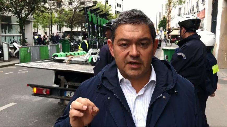 Capture d'écran de la vidéo du maire du 13e arrondissement de Paris
