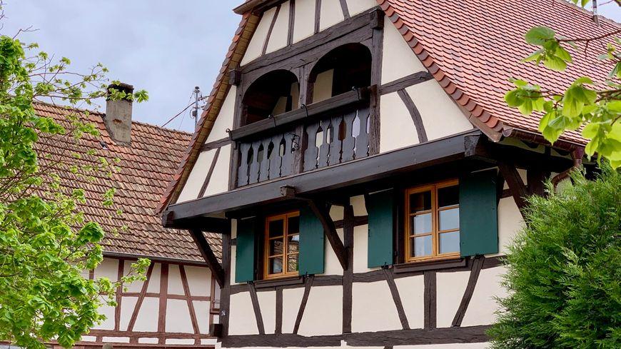 Ohenheim, les beaux colombages