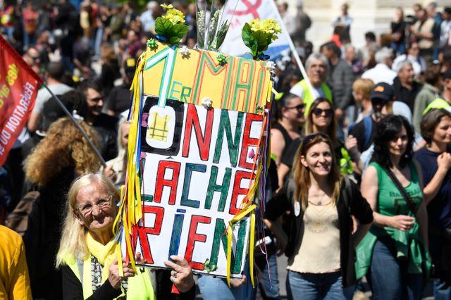 Des milliers de personnes ont participé au défilé marseillais