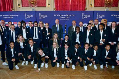 Présentation de la Coupe du monde de Football féminin 2019 en France