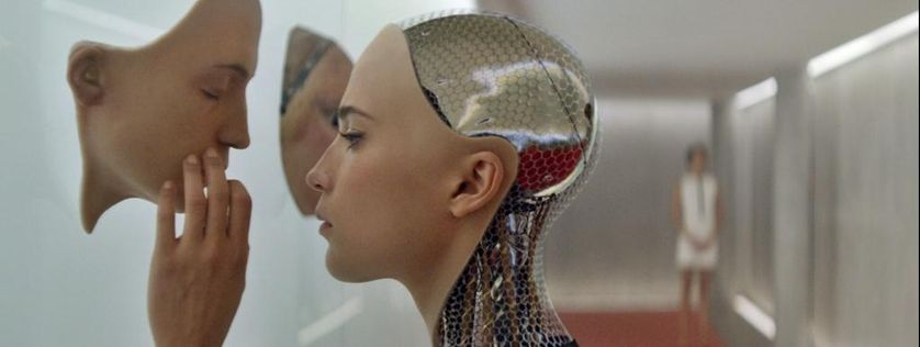 "Image du film ""Ex machina"" de Alex Garland, 2014"