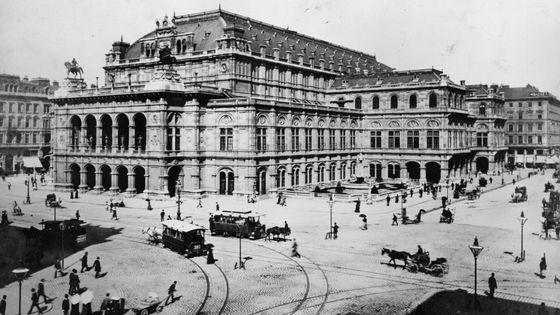 L'Opéra de Vienne en 1880