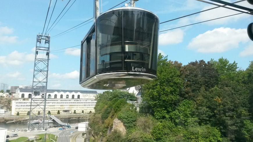 Le téléphérique de Brest est en arrêt pendant deux semaines