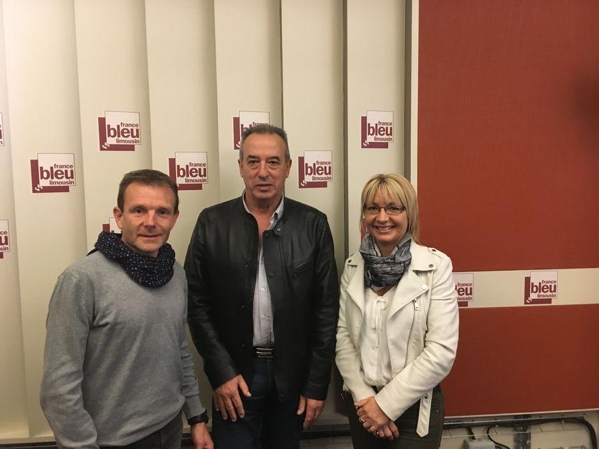 Laurent Diot, Laurent Vaujour et Isabelle Bossoutrot