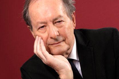 Portrait de Jean-Marie Rouart, académicien et romancier, à Paris le 3 février 2018.