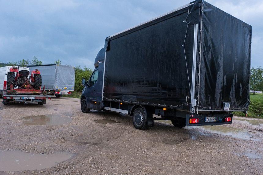 Contrôle routier de camionnettes de moins de 3,5 Tonnes