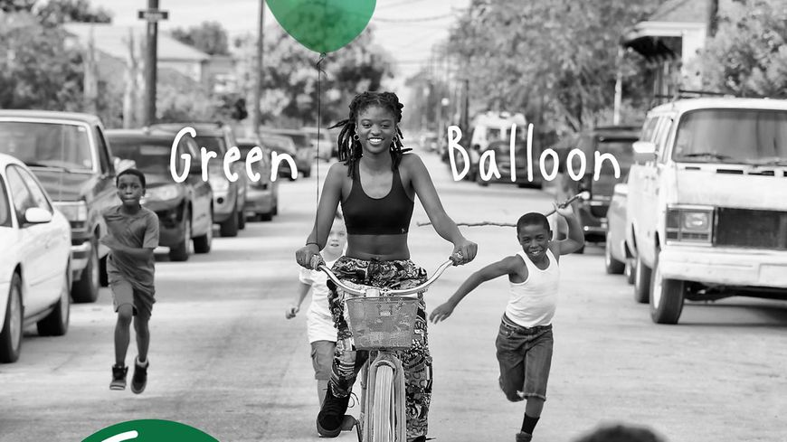 "Tank and the Bangas, ""Spaceships"", cd ""Green Balloon"""