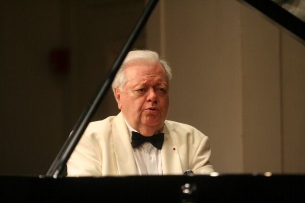 Philippe Entremont performing the music of Mozart, Beethoven, Debussy and Ravel at International Keyboard Institute and Festival at Mannes College of Music on Wednesday night, July 23, 2008.
