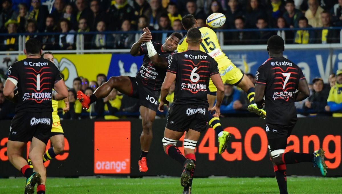 Rugby Top 14 : Défaite de l'ASM à Toulon (32-11)