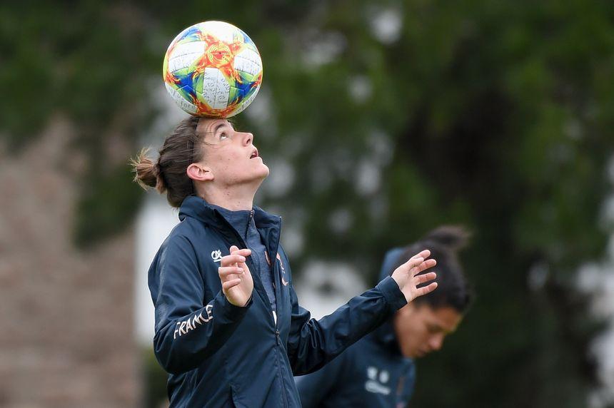 Charlotte Bilbault au centre d'entraînement de Perros-Guirec le 9 mai dernier.