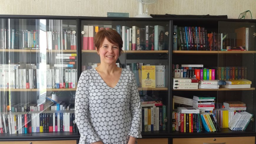 Virginie Hamm-Boulard est la directrice de l'imprimerie Brodard et Taupin située à La Flèche.