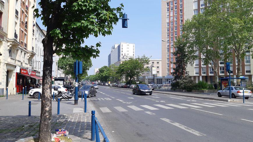 Avenue Jean Jaurès à Aubervilliers