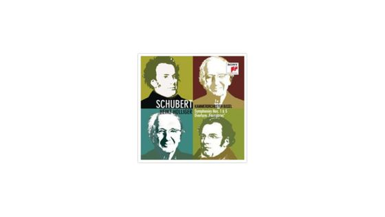 Schubert Symphonies n°1 et 5 et ouverture de Fierrabras SONY CLASSICAL