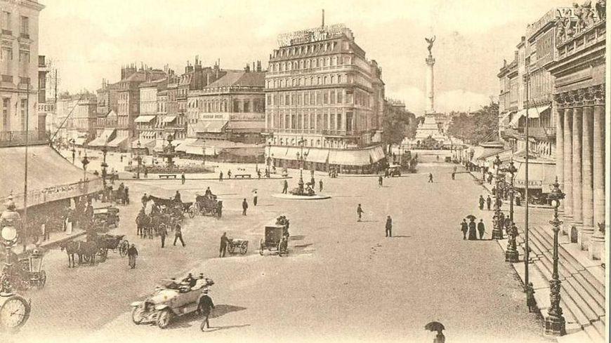 Bordeaux Place de la Comédie Belle époque