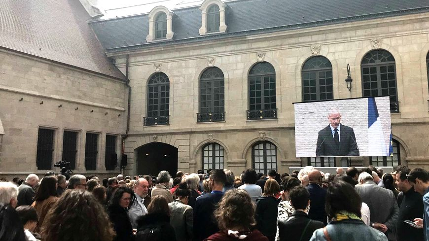 Franck Riester inaugure le musée des Beaux Arts de Dijon