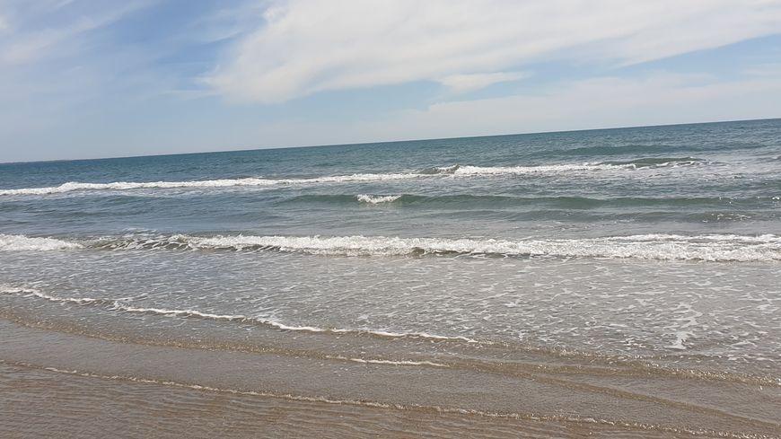 L'eau est historiquement froide sur les plages de l'Hérault.