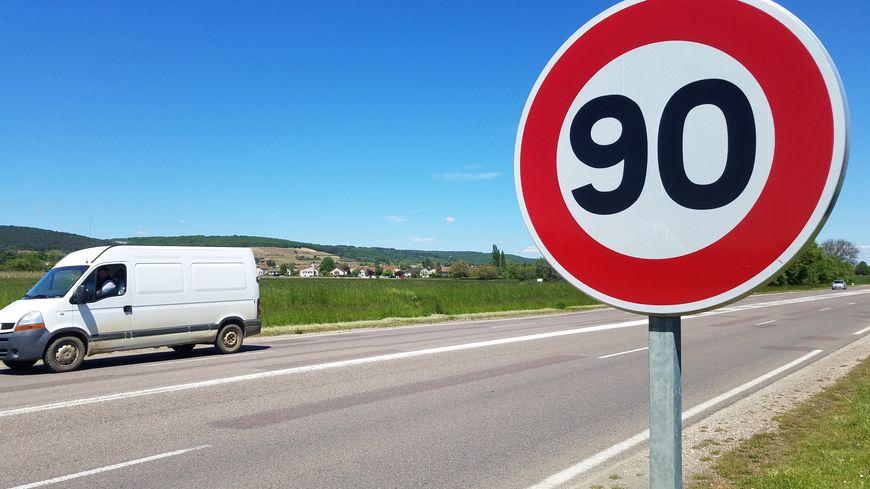 Les routes de Côte-d'Or vont revenir aux 90 km/h.