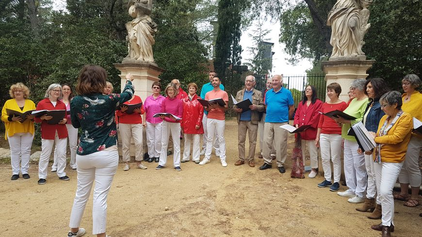 Plus de 50 choeurs de tout l'Hérault ont chanté au Domaine d'O à Montpellier