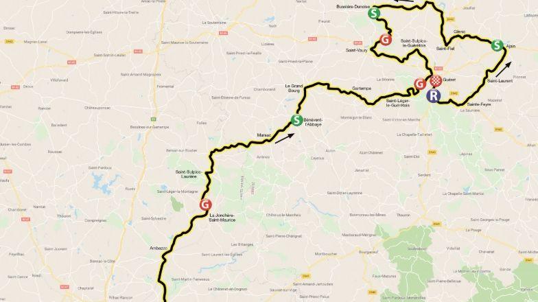 La première étape du Tour du Limousin 2019 arrivera à Guéret
