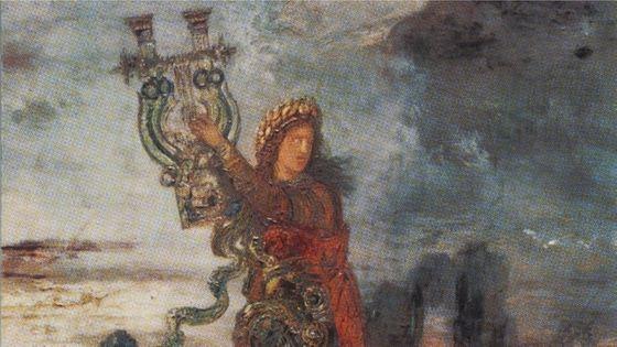 Gustave Moreau : Arion (détail). BnF, fond Albert Pomme de Mirimonde. Collection de documents iconographiques.