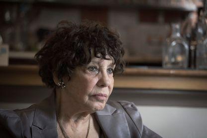 Portrait de l'actrice Liliane Rovère, 8 avril 2019 à Paris.