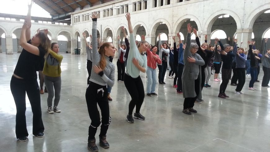 Les danseurs répètent depuis plusieurs mois déjà