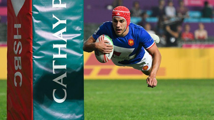 Gabin Villière brille aussi avec l'équipe de France de rugby à 7