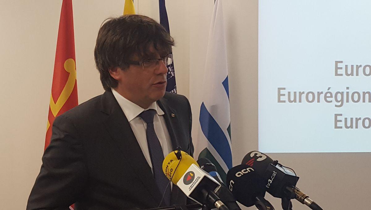 Carles Puigdemont serait élu au parlement européen selon les sondages sortis des urnes