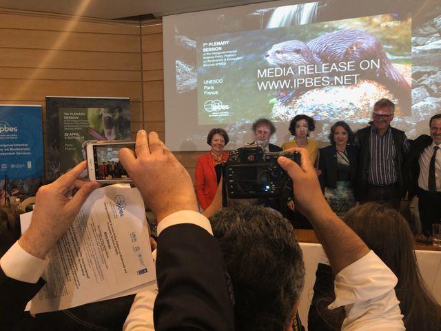IPBES, sommet à l'Unesco.