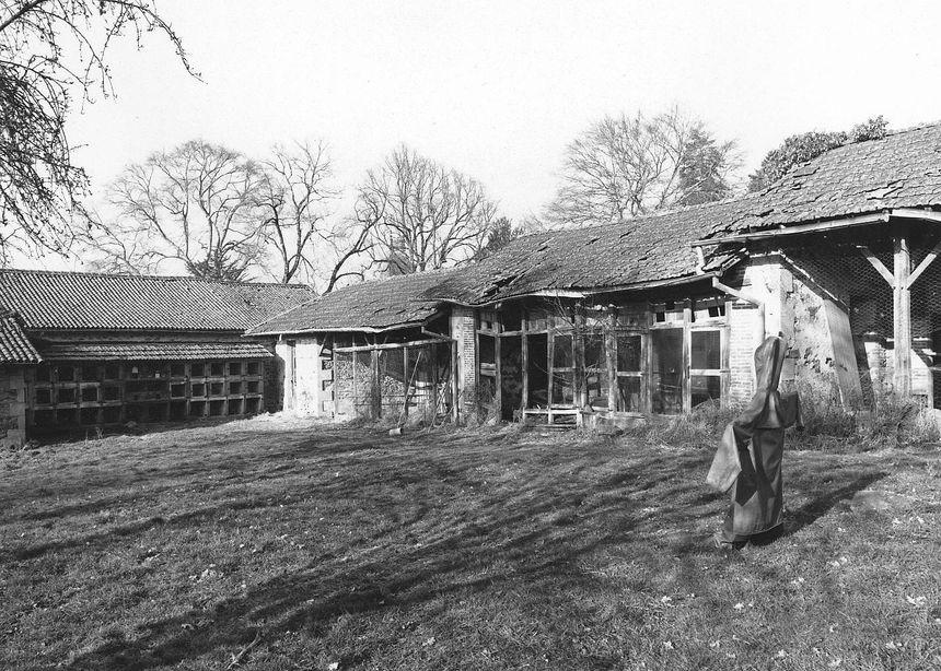 De très belles photos d'archive du parc zoologique du Reynou, lorsqu'il était la propriété de la famille Haviland.