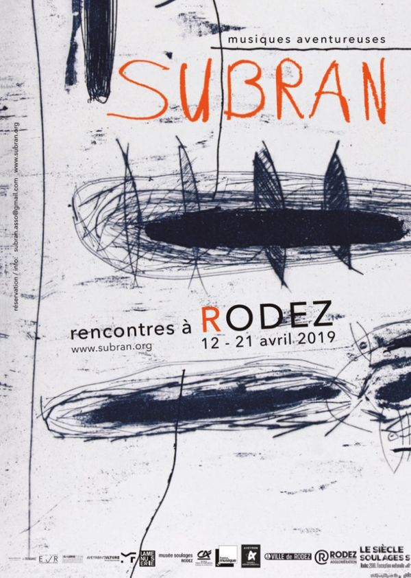 Affiche du festival Subran 2019