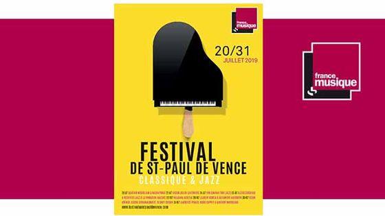 Festival de Musique de Chambre de Saint-Paul de Vence du 20 au 31 juillet 2019