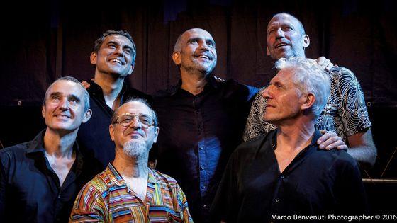 Claude Tchamitchian, Romano Pratesi, Hasse Poulsen, Christophe Marguet, Glenn Ferris, Stéphan Oliva