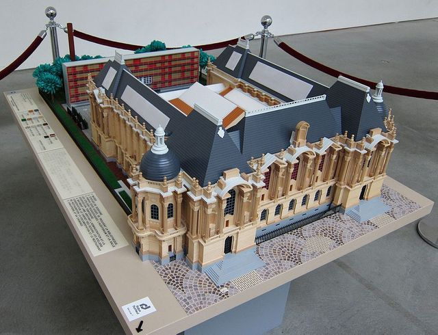 Maquette du Palais des Beaux-arts de Lille