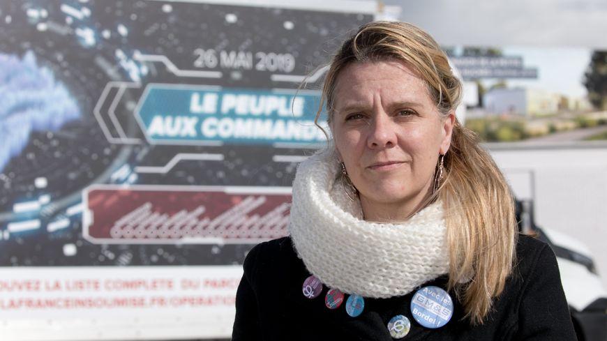 Anne-Sophie Pelletier pour la France insoumise.