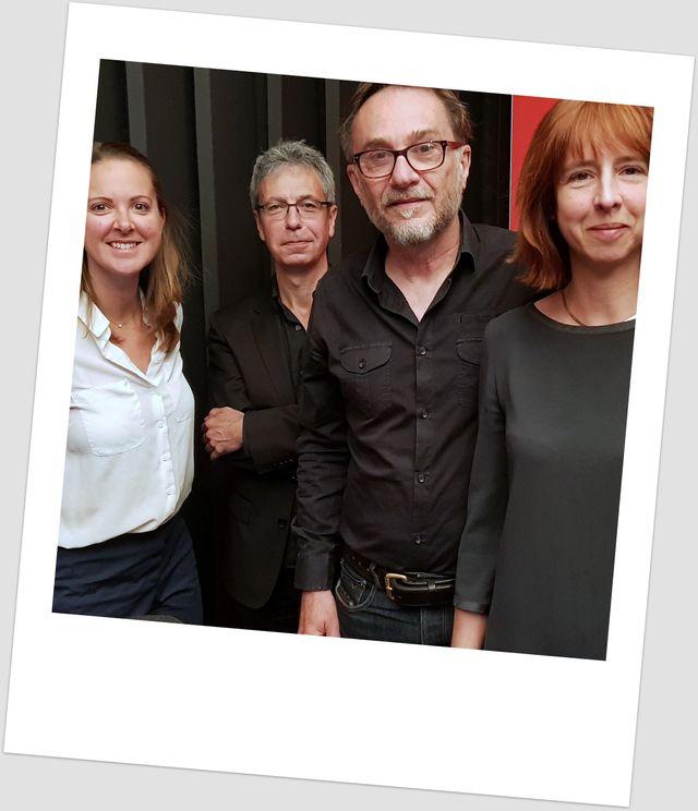 Charline Vanhœnacker, Christophe Labbé, Marc Dugain et Olivia Récasens