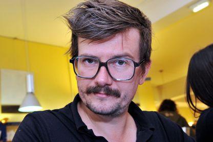 Luz, caricaturiste de presse et auteur de bandes dessinées à Tours le 15 octobre 2011.