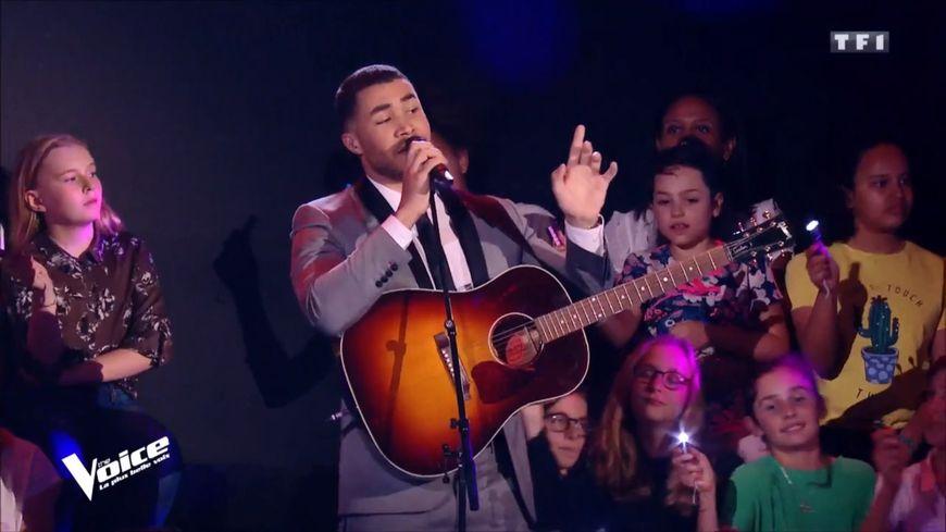 Pierre Danaë est le premier Sarthois à aller jusqu'aux demi-finales de The Voice
