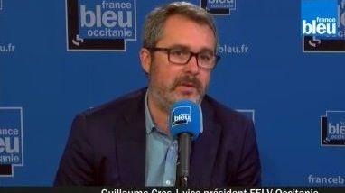 Guillaume Cros, vice-président EELV du conseil régional d'Occitanie.