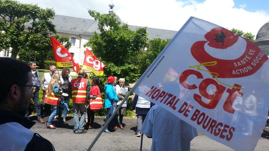 Seule la CGT mène la grève à l'hôpital de Bourges