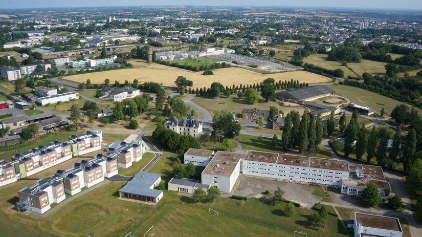 Le site du lycée agricole de Laval en Mayenne