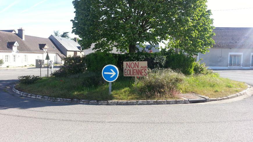 Le projet d'éoliennes ne fait pas l'unanimité à Senneçay, près de Bourges