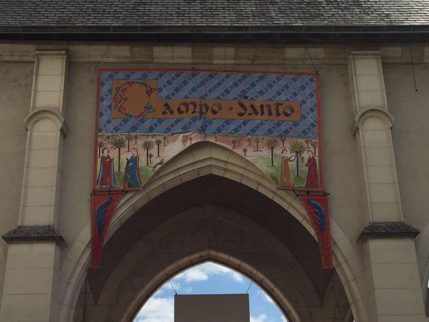 Le Campo Santo s'habille à la mode du Moyen Age jusqu'à mercredi 8 mai