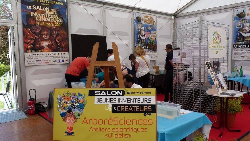 Le salon des jeunes inventeurs de Monts en 2018