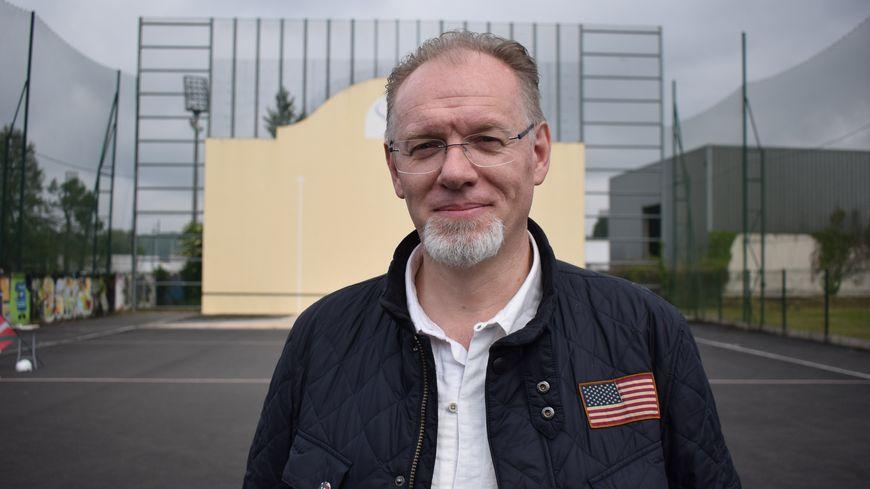 Stéphane Fredon (président du club de Pelote Basque de Périgueux )
