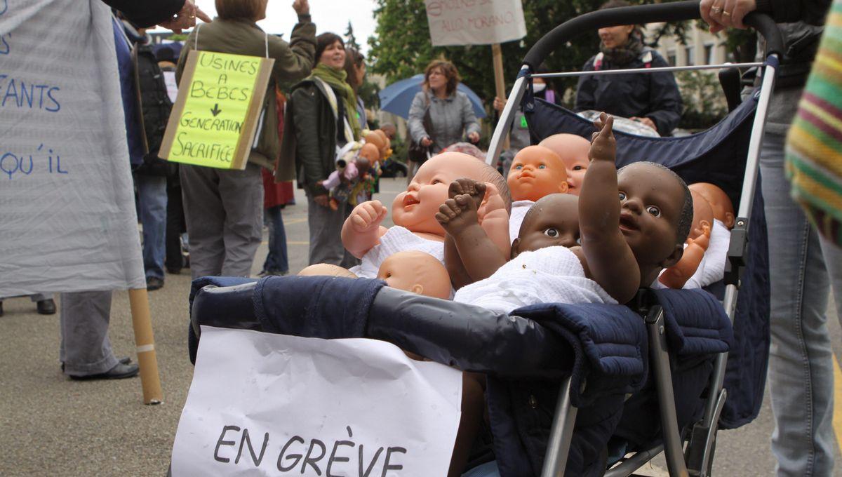 Tours : manifestation et grève du personnel des crèches ce jeudi