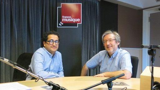 Le compositeur Sina Fallahzadeh & le producteur Arnaud merlin (g. à d.)