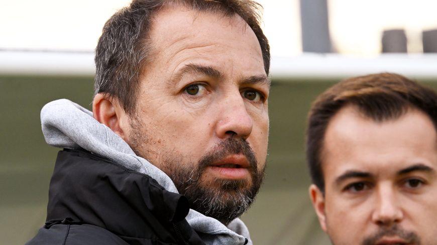 Benoît Cauet, entraîneur de l'US Concarneau